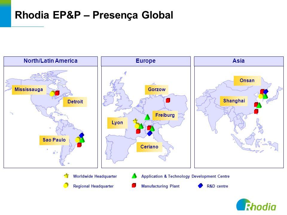 Rhodia EP&P – Presença Global
