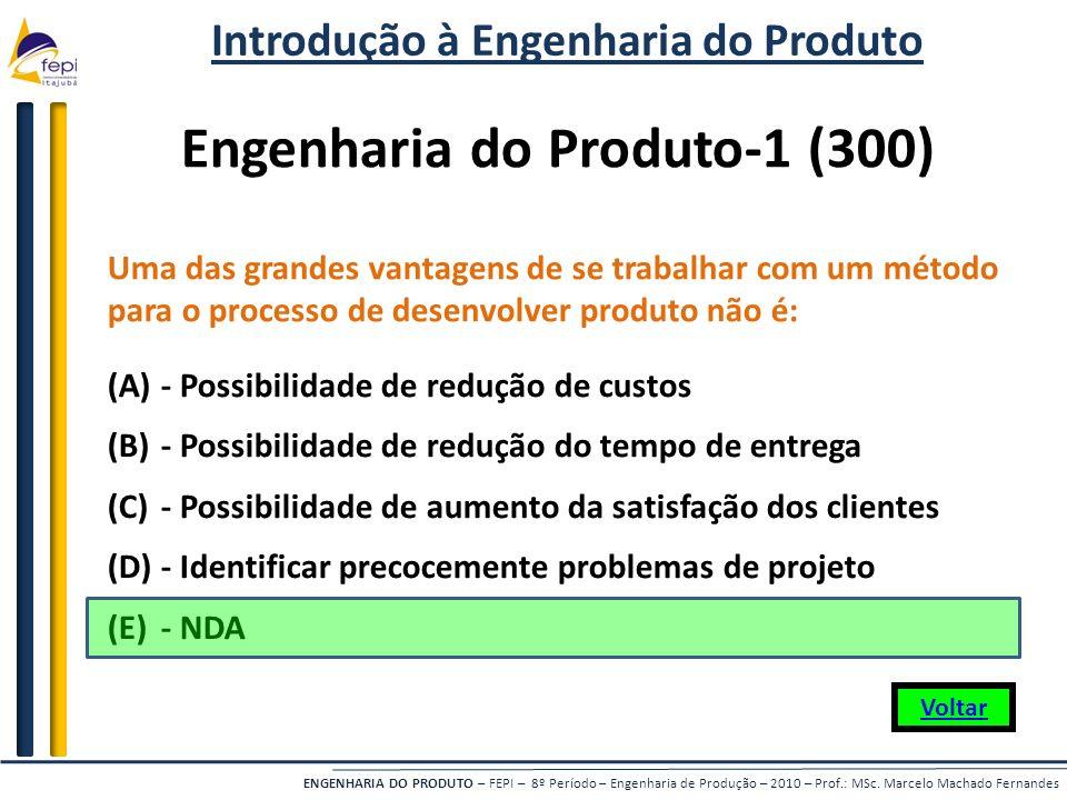 Introdução à Engenharia do Produto Engenharia do Produto-1 (300)