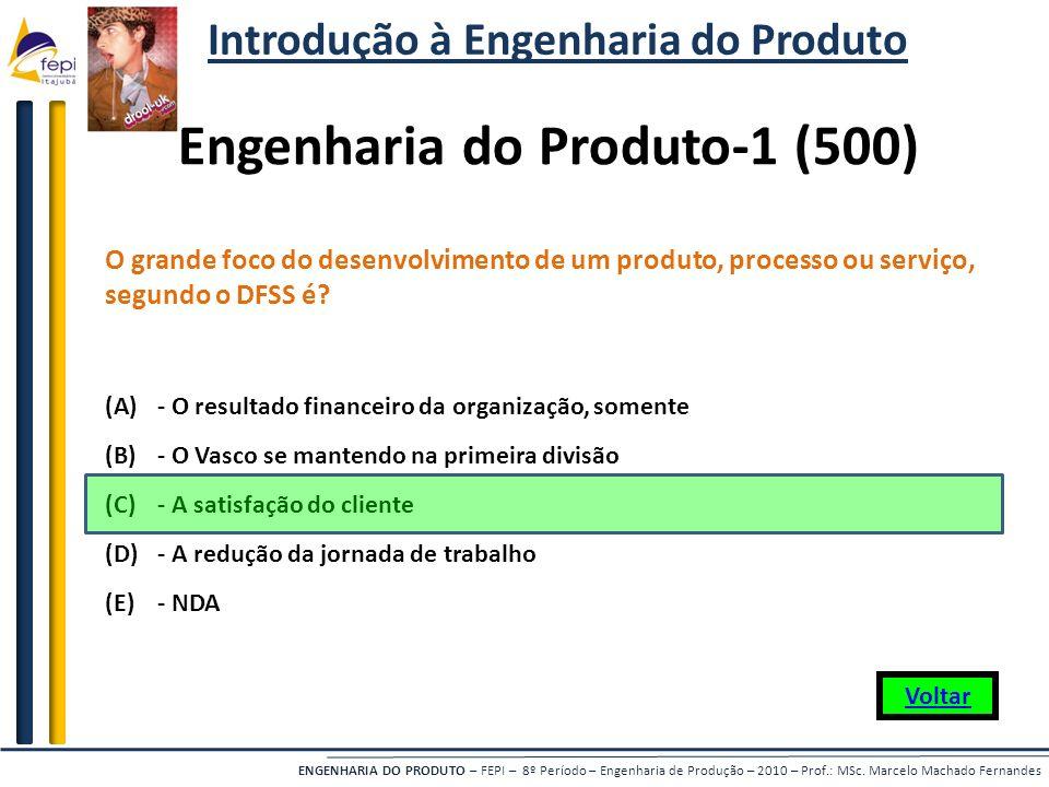 Introdução à Engenharia do Produto Engenharia do Produto-1 (500)