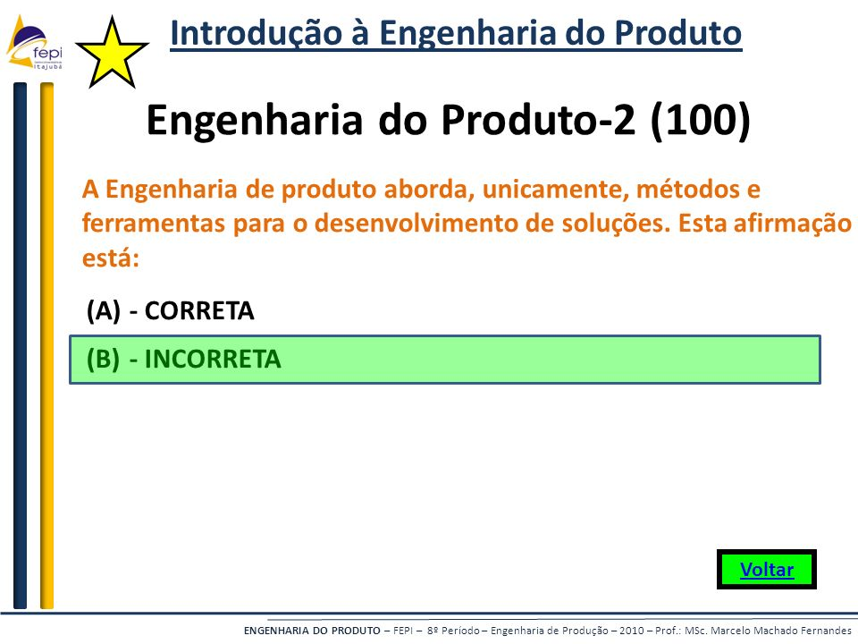 Introdução à Engenharia do Produto Engenharia do Produto-2 (100)