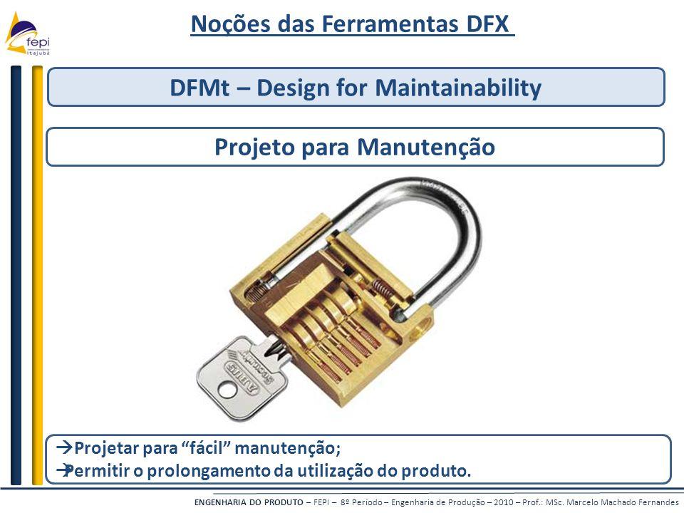 Noções das Ferramentas DFX