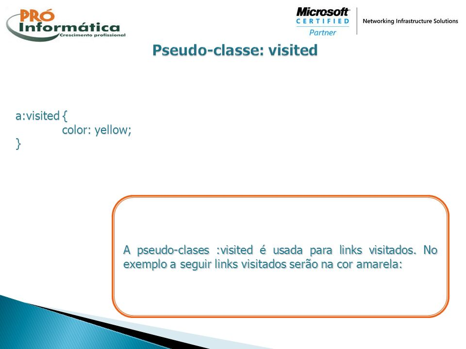 Pseudo-classe: visited