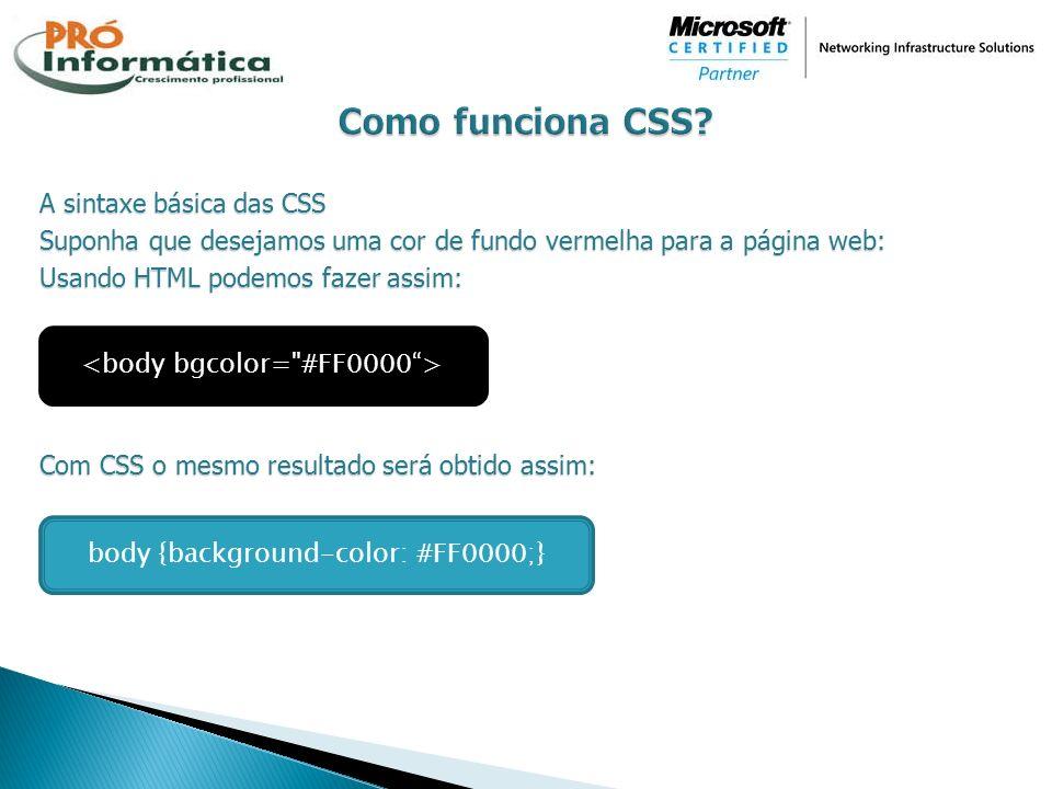 Como funciona CSS