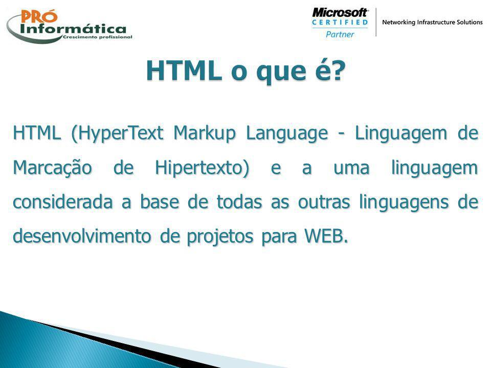 HTML o que é