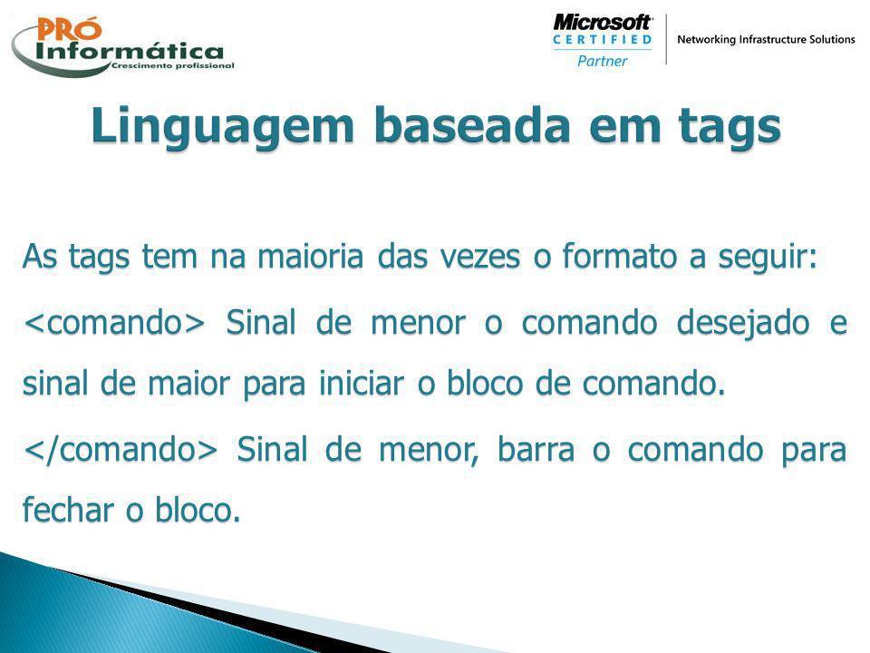 Linguagem baseada em tags