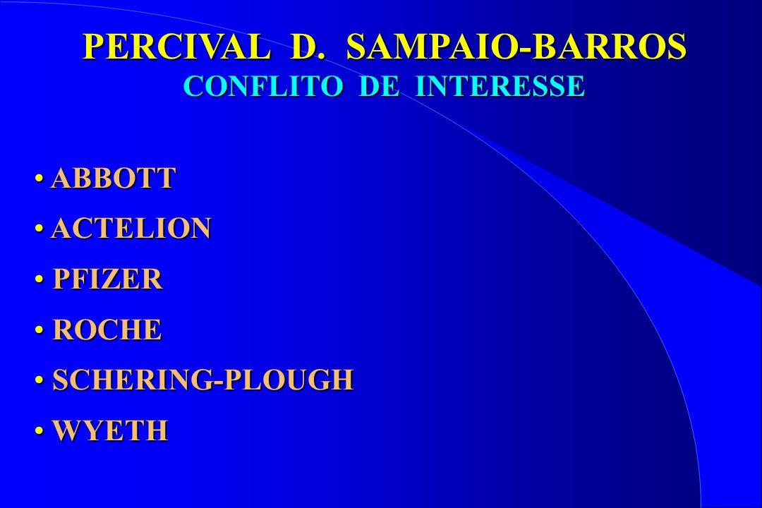 PERCIVAL D. SAMPAIO-BARROS