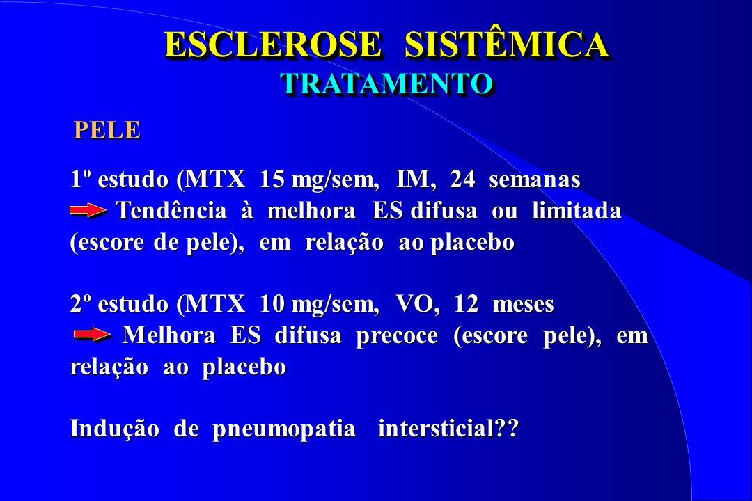 ESCLEROSE SISTÊMICA TRATAMENTO PELE
