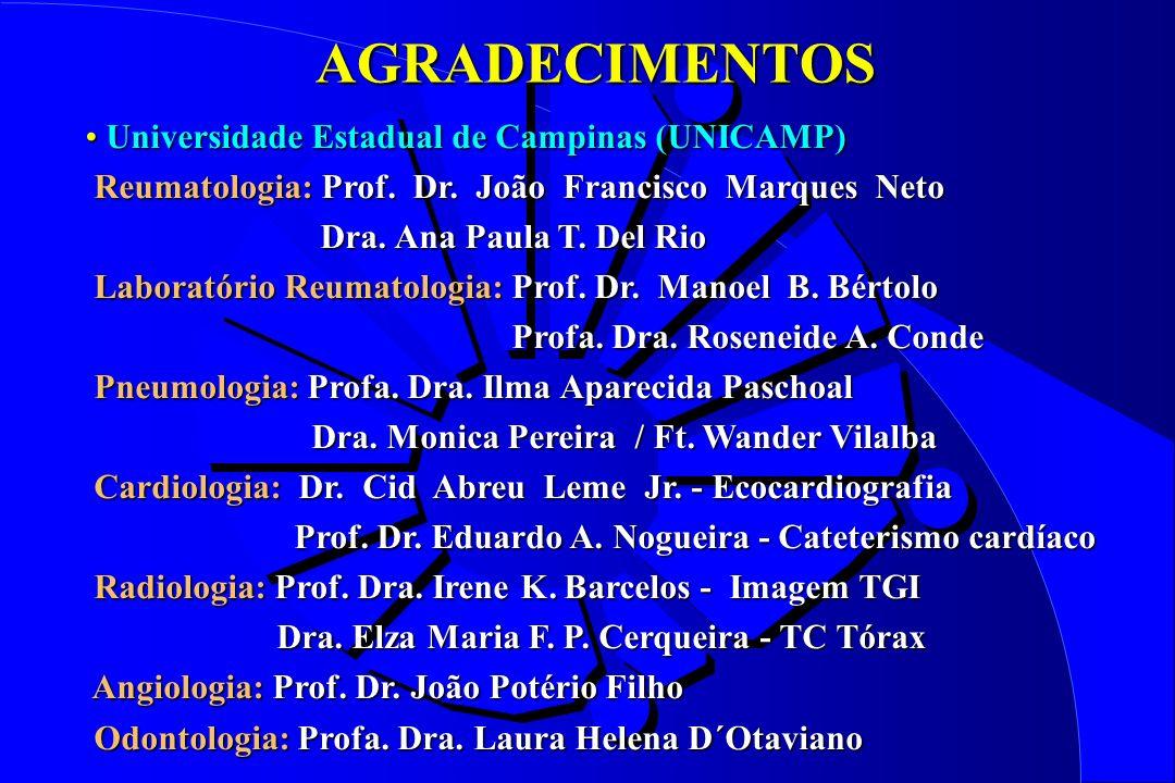 AGRADECIMENTOS Universidade Estadual de Campinas (UNICAMP)