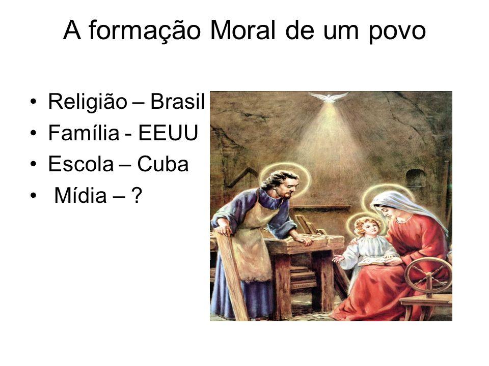 A formação Moral de um povo