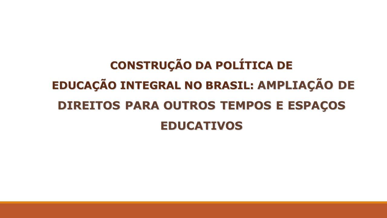 CONSTRUÇÃO DA POLÍTICA DE