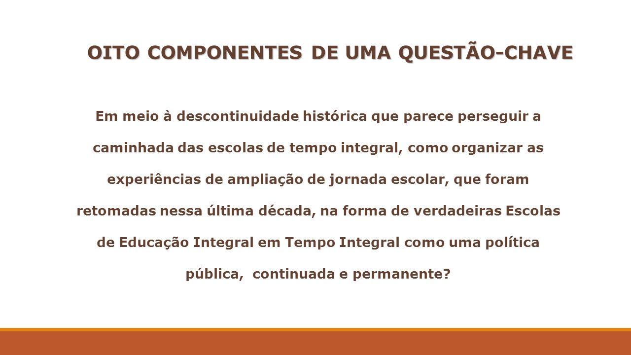 OITO COMPONENTES DE UMA QUESTÃO-CHAVE