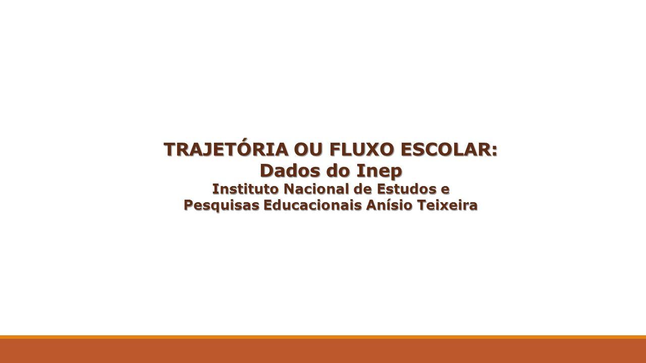 TRAJETÓRIA OU FLUXO ESCOLAR: Dados do Inep