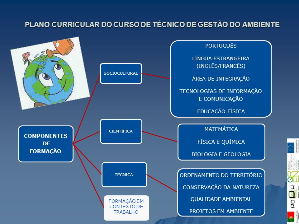 PLANO CURRICULAR DO CURSO DE TÉCNICO DE GESTÃO DO AMBIENTE