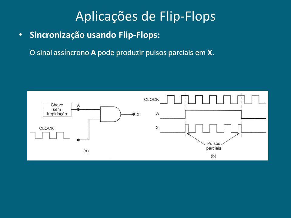 Aplicações de Flip-Flops