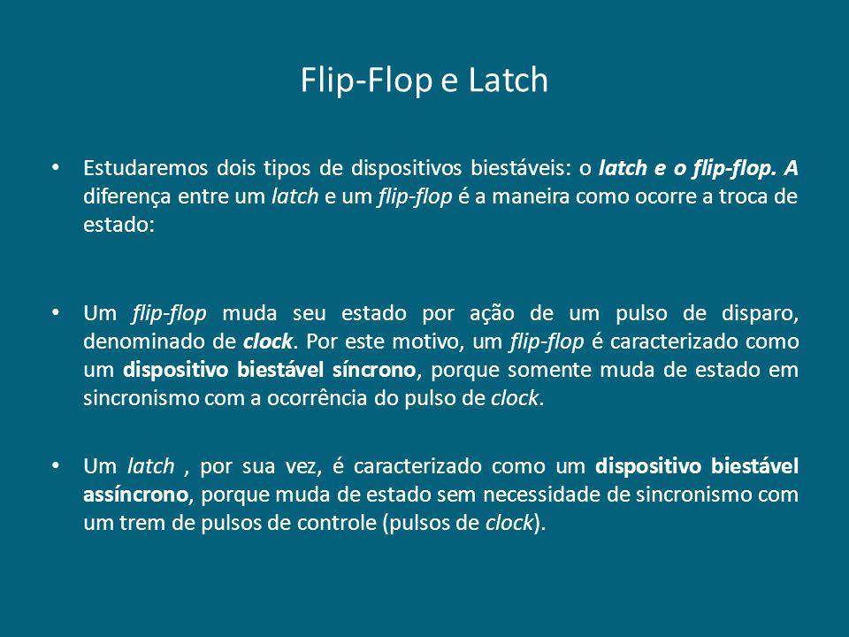 Flip-Flop e Latch