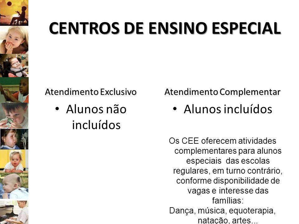 CENTROS DE ENSINO ESPECIAL