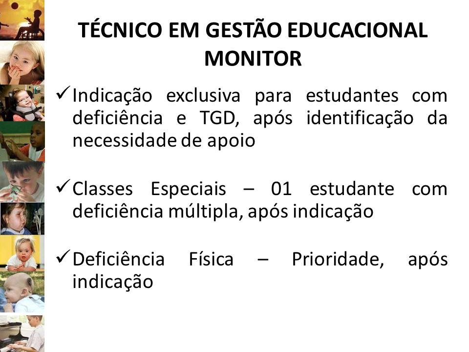 TÉCNICO EM GESTÃO EDUCACIONAL MONITOR