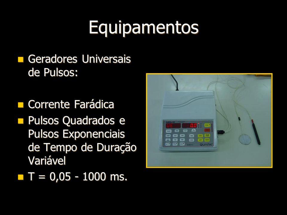 Equipamentos Geradores Universais de Pulsos: Corrente Farádica