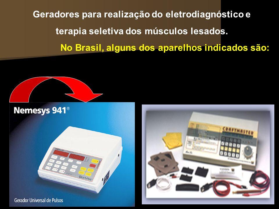 Geradores para realização do eletrodiagnóstico e