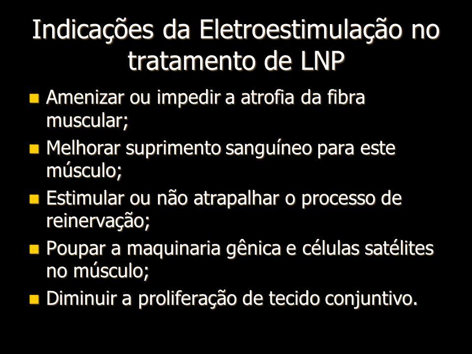 Indicações da Eletroestimulação no tratamento de LNP