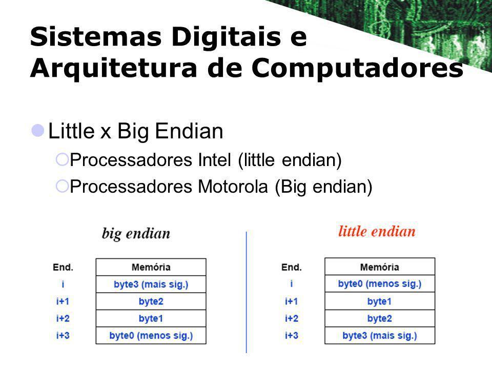 Sistemas Digitais e Arquitetura de Computadores