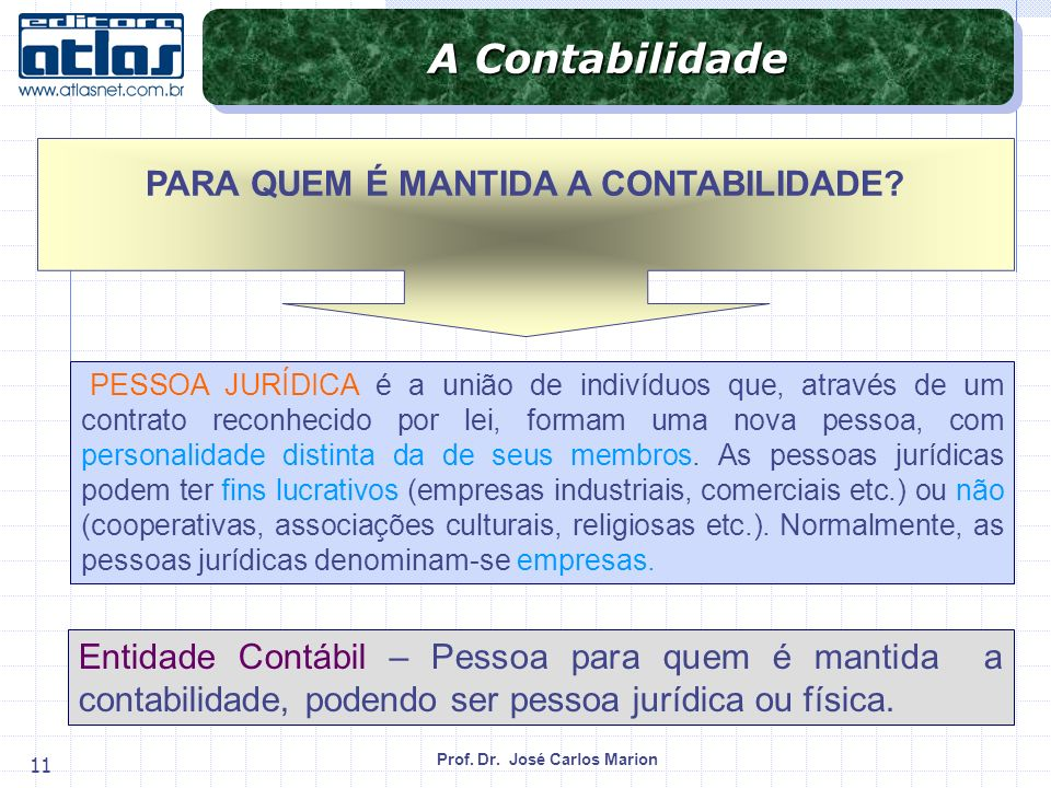 PARA QUEM É MANTIDA A CONTABILIDADE