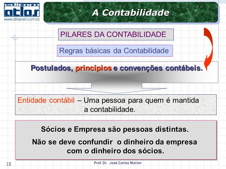 A Contabilidade PILARES DA CONTABILIDADE