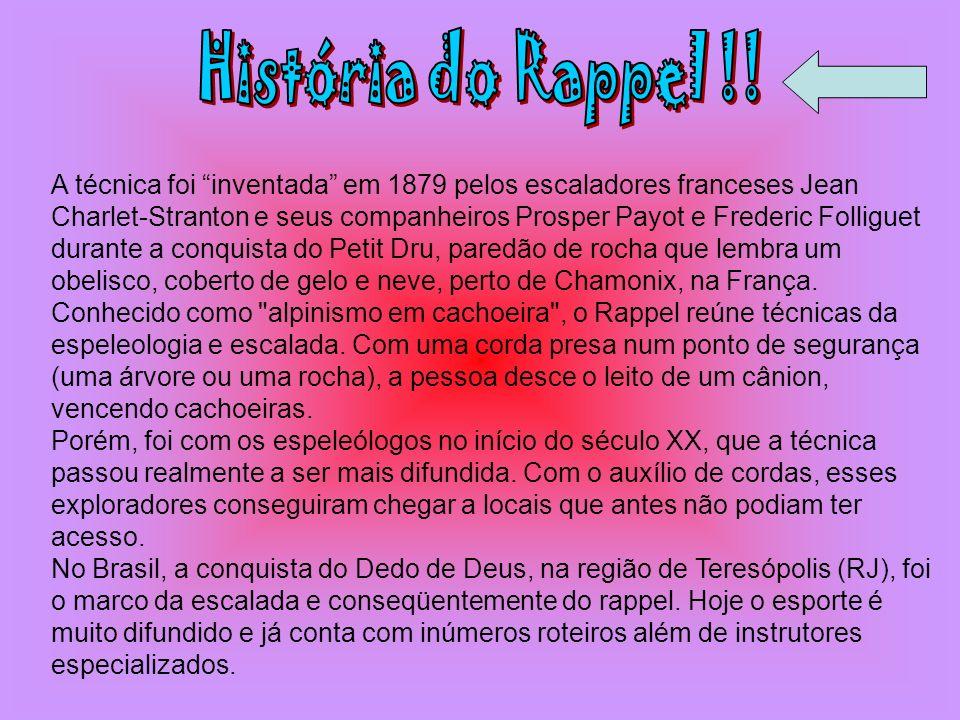História do Rappel !!