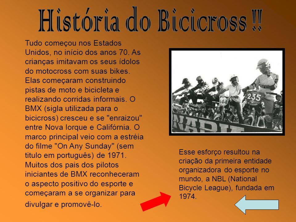 História do Bicicross !!