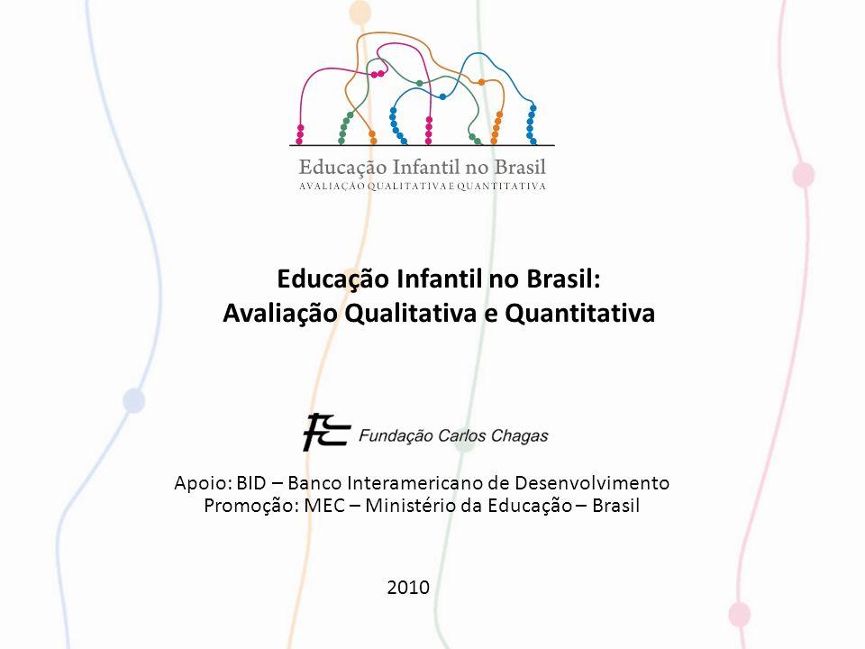 Educação Infantil no Brasil: Avaliação Qualitativa e Quantitativa