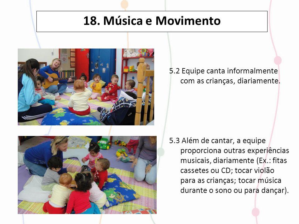 18. Música e Movimento