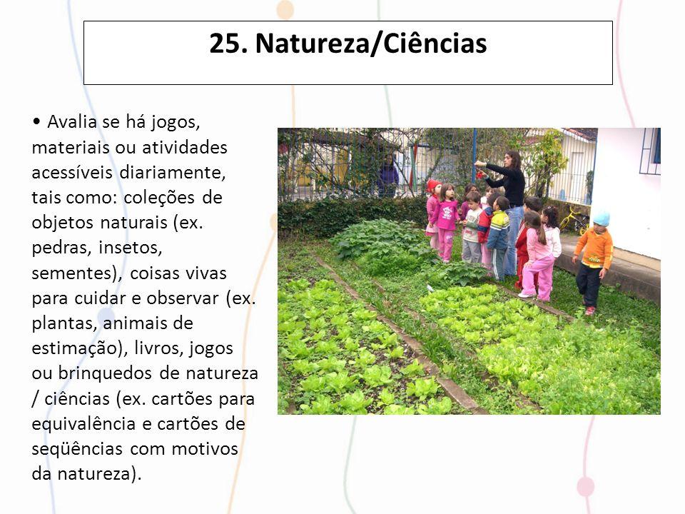 25. Natureza/Ciências