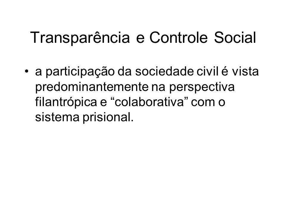 Transparência e Controle Social
