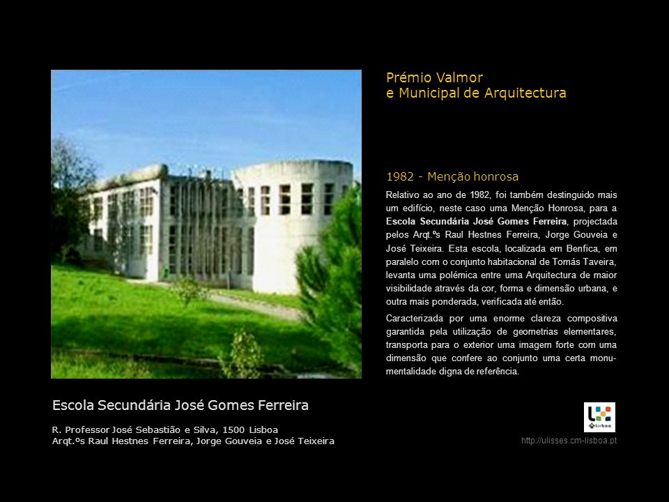 e Municipal de Arquitectura
