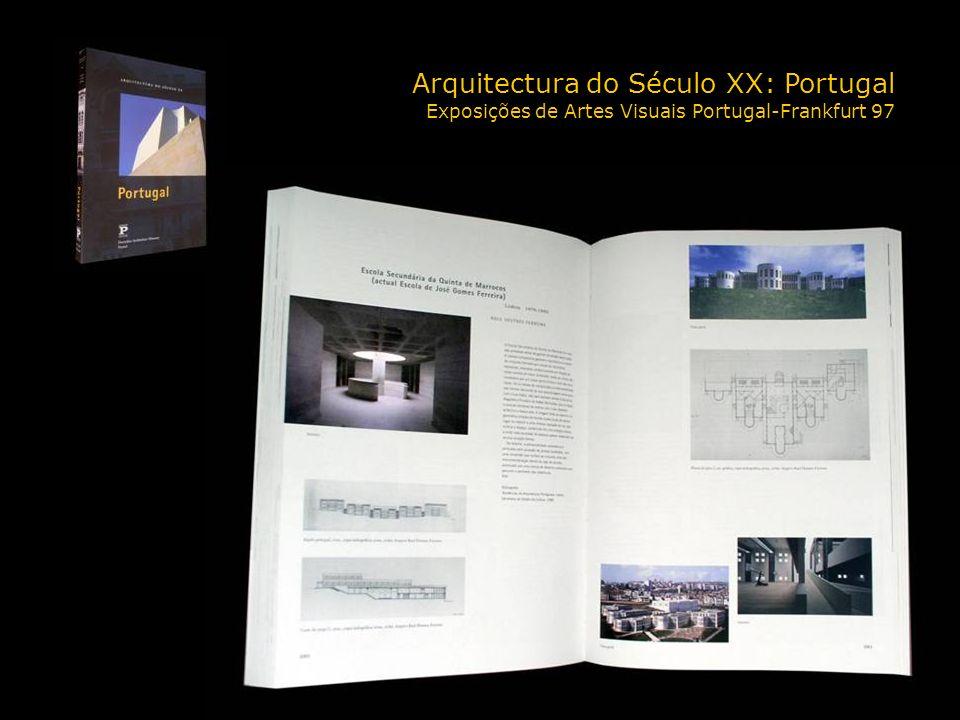 Arquitectura do Século XX: Portugal