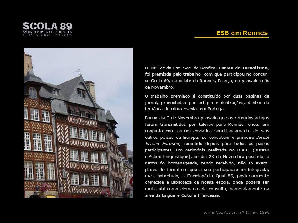 ESB em Rennes