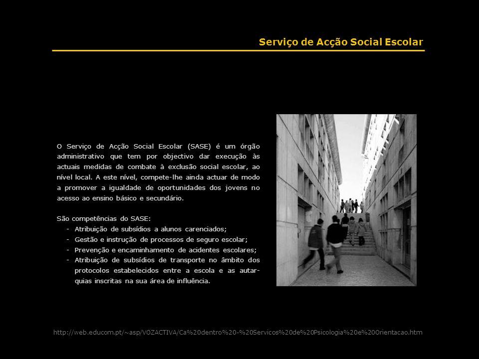 Serviço de Acção Social Escolar