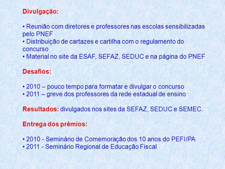 Divulgação:Reunião com diretores e professores nas escolas sensibilizadas pelo PNEF.