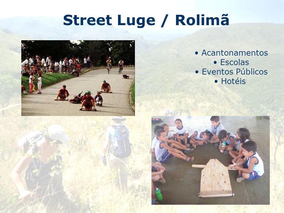 Street Luge / Rolimã Acantonamentos Escolas Eventos Públicos Hotéis