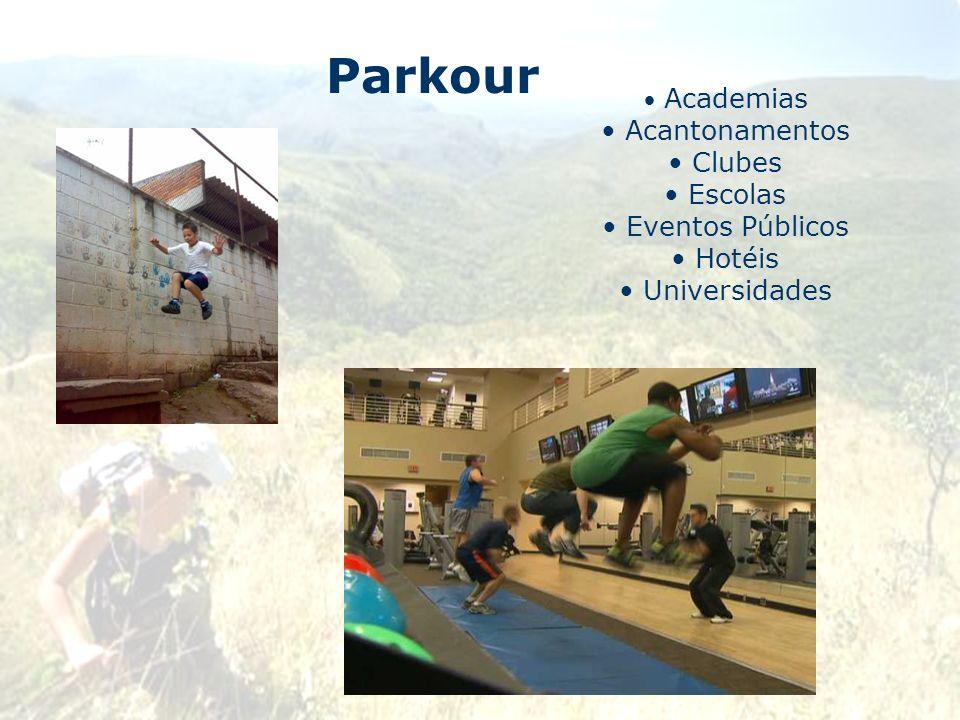 Parkour Acantonamentos Clubes Escolas Eventos Públicos Hotéis