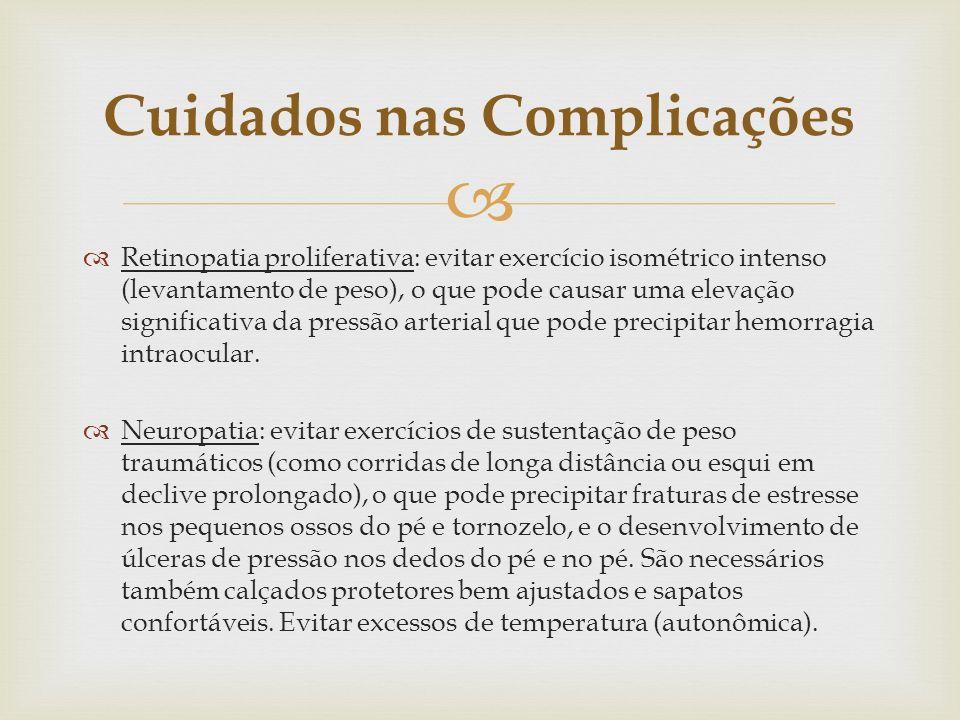 Cuidados nas Complicações