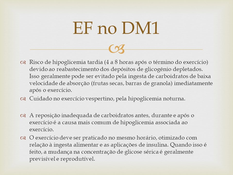 EF no DM1