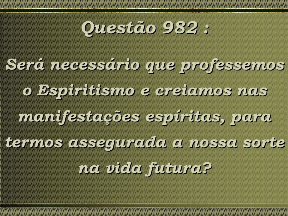 Questão 982 :