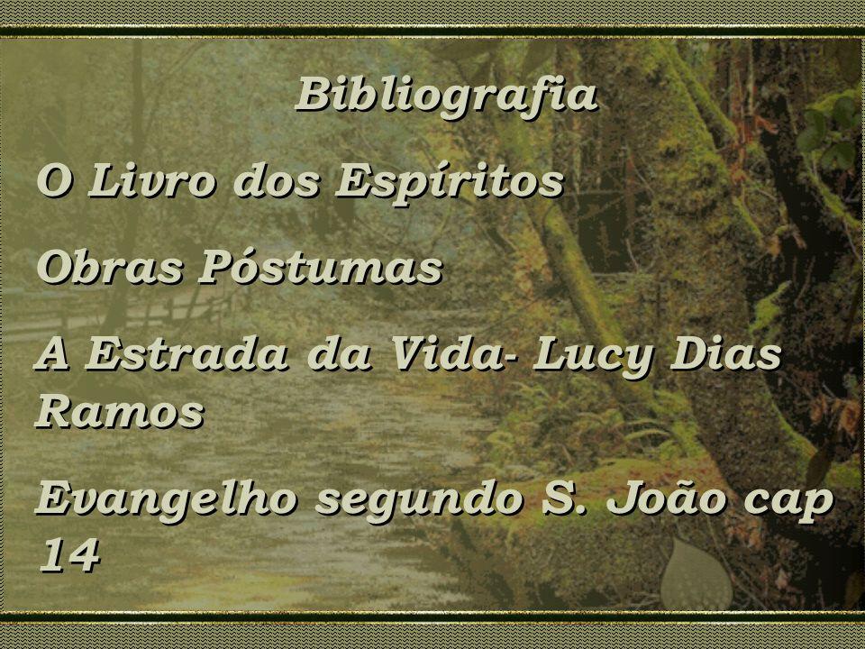 Bibliografia O Livro dos Espíritos. Obras Póstumas.
