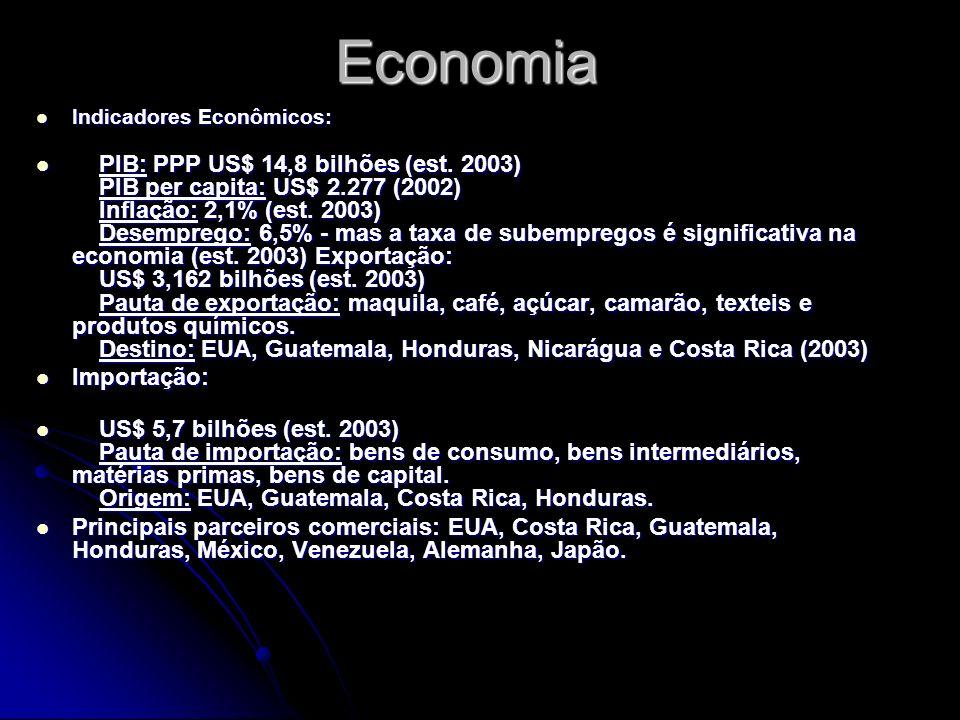 Economia Indicadores Econômicos: