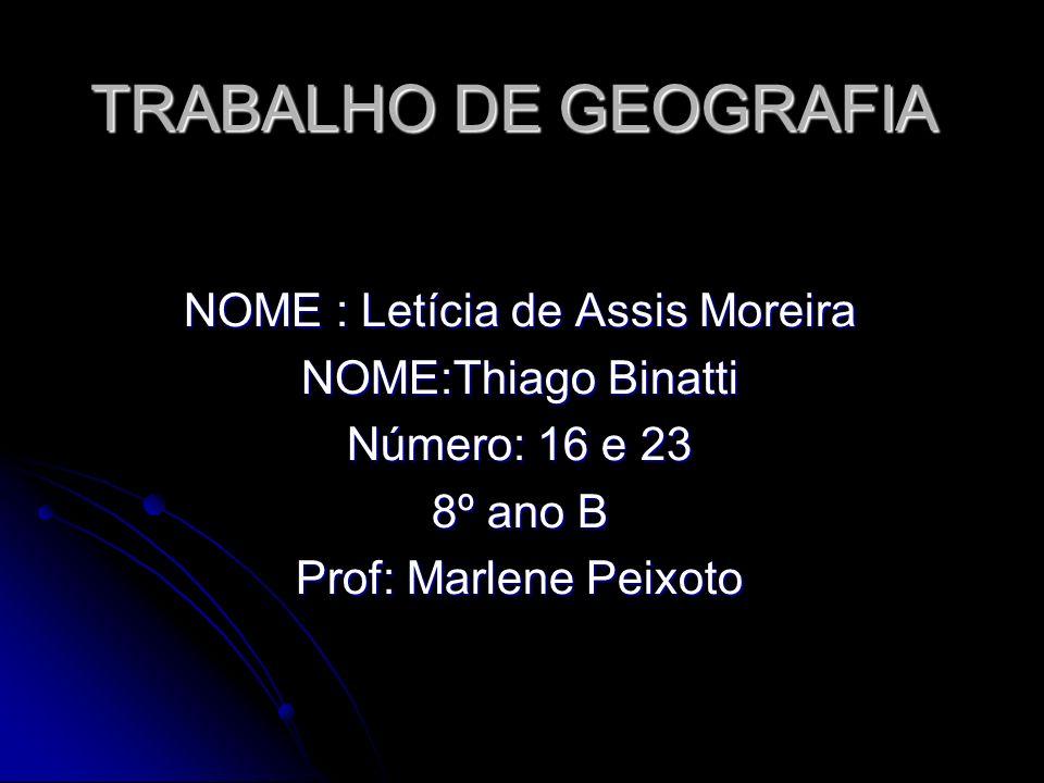 NOME : Letícia de Assis Moreira
