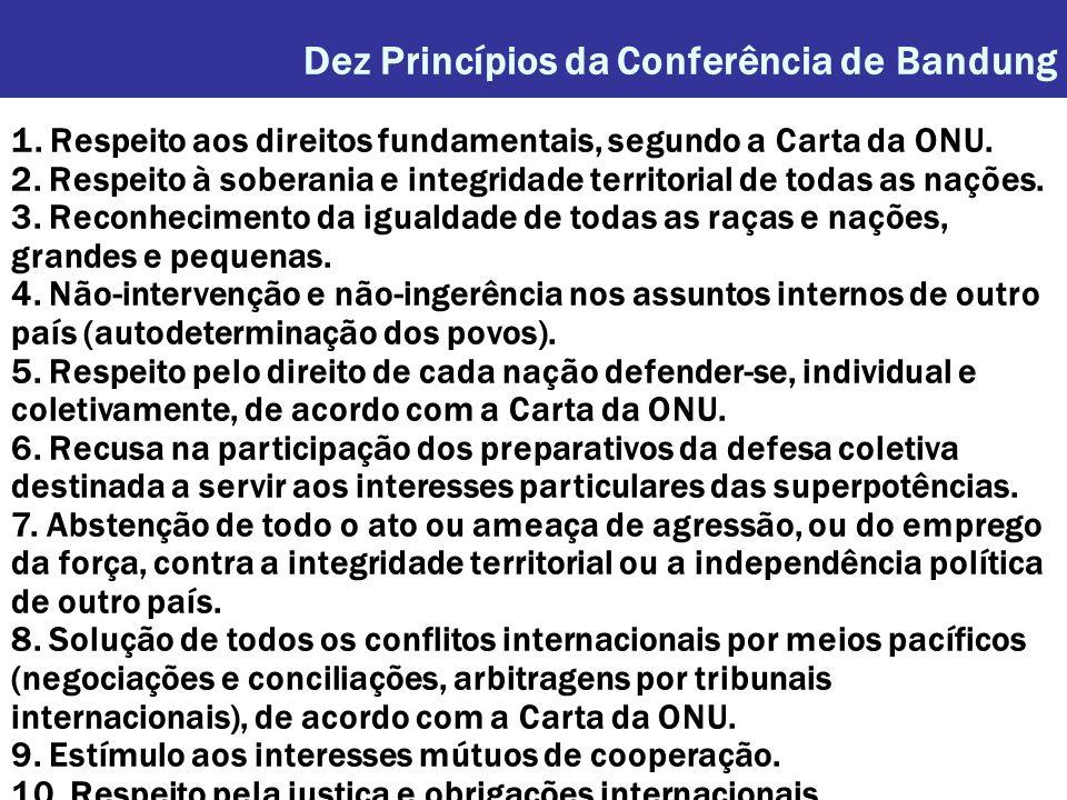 Dez Princípios da Conferência de Bandung