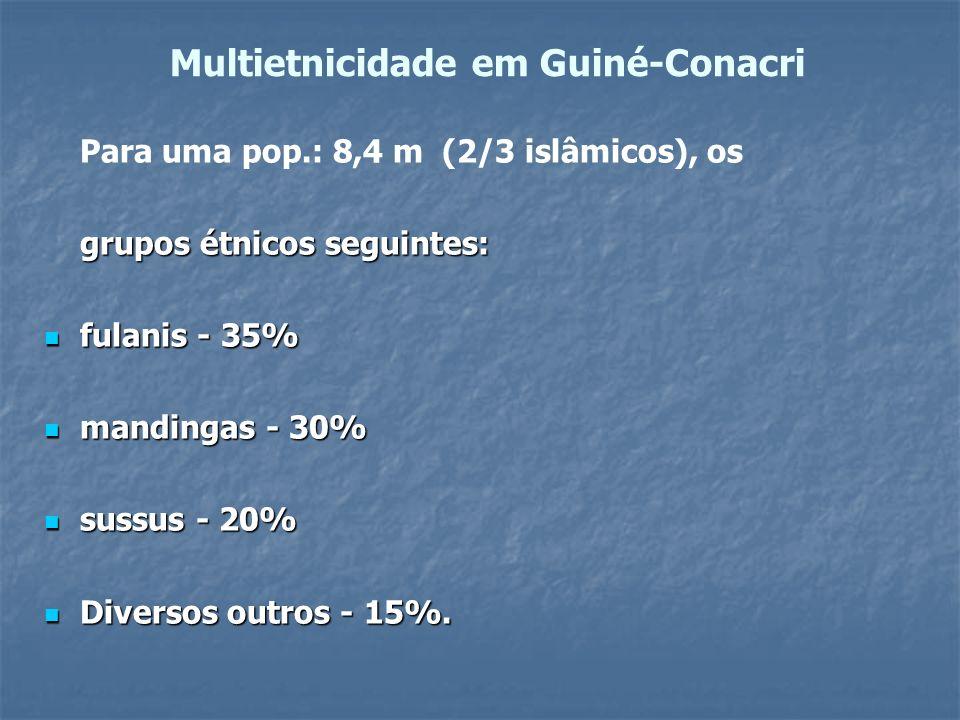 Multietnicidade em Guiné-Conacri