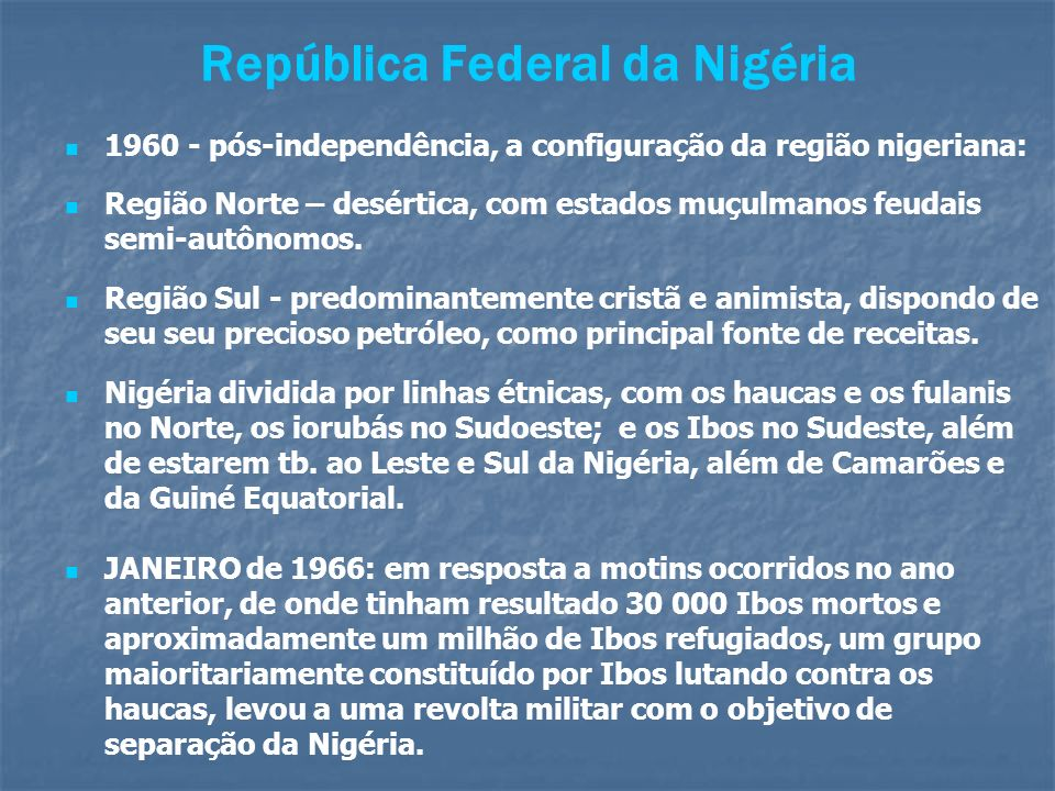 República Federal da Nigéria