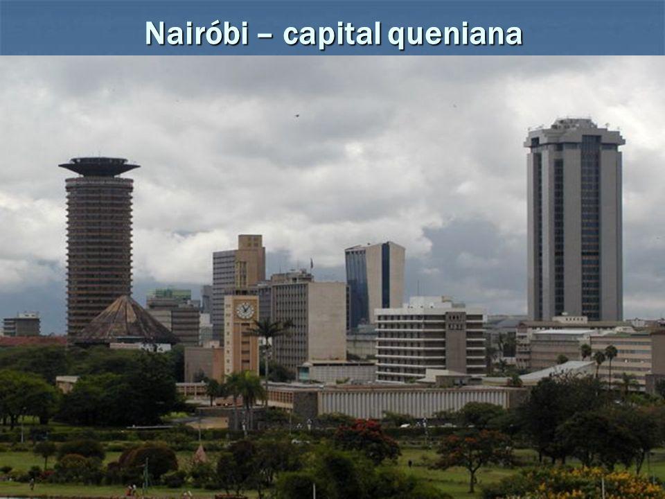 Nairóbi – capital queniana